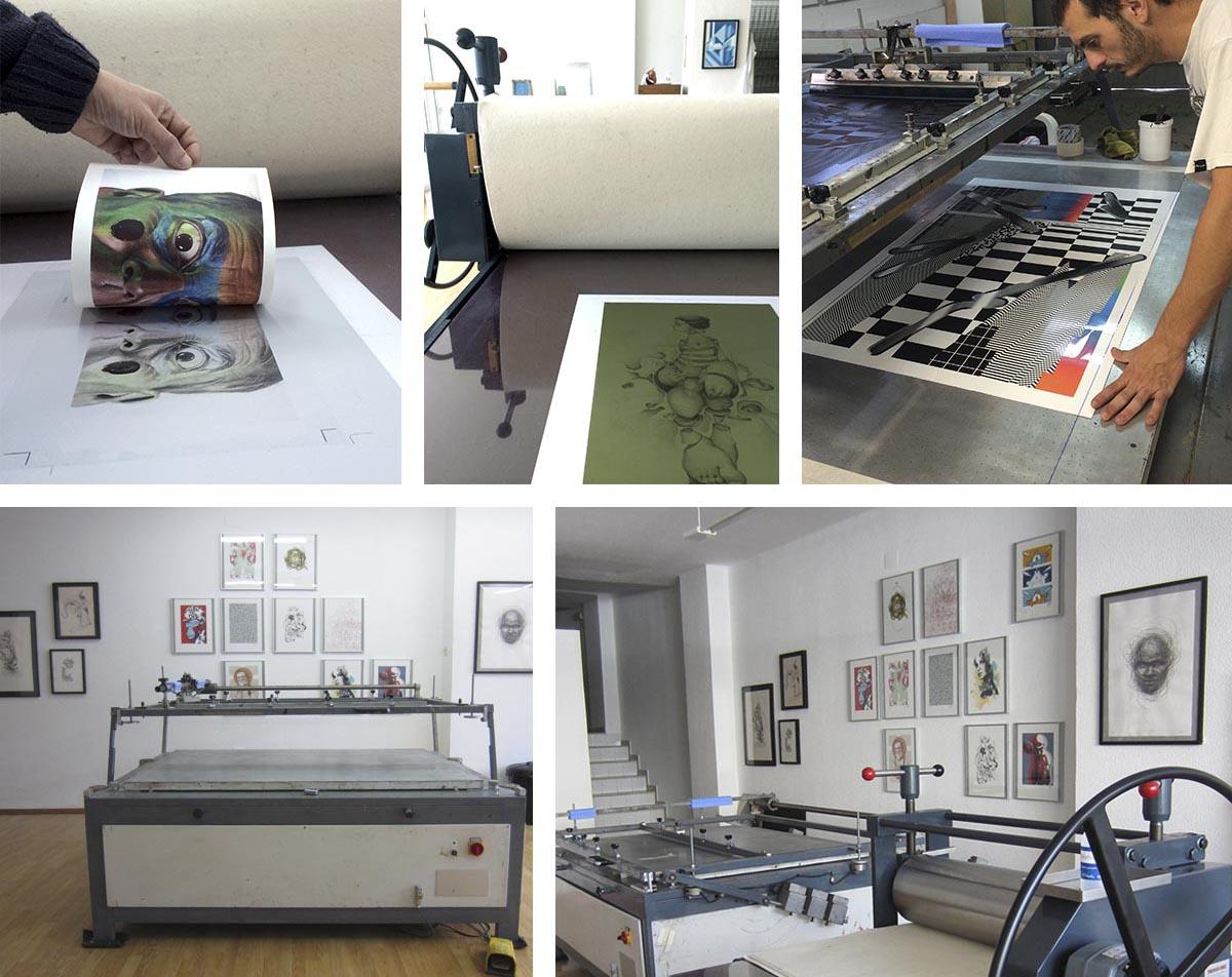 taller serigrafia artistica